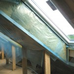 Roof-windows airtightness and insulation of sloping roof